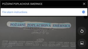 označení textu v obrázku pro překlad