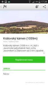 mapy.cz - informace o místě
