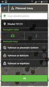 Plánovač trasy