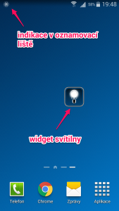 Tiny FlashLIght - Widget
