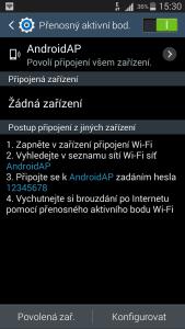 Wifi hotspot - podrobnosti