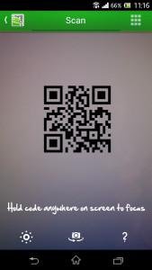 QRDroid - načítání kódu