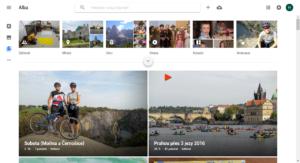 Google fotky - alba na webu