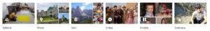 Fotky Google - předpřipravená alba